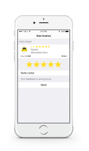 Taxify driver rating