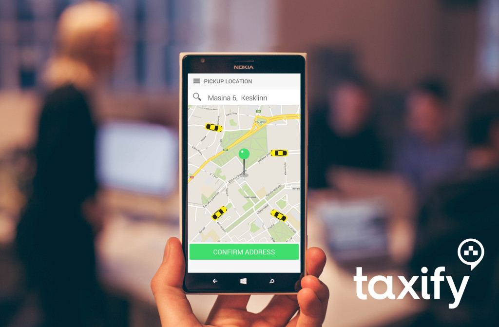Taxify WindowsPhone