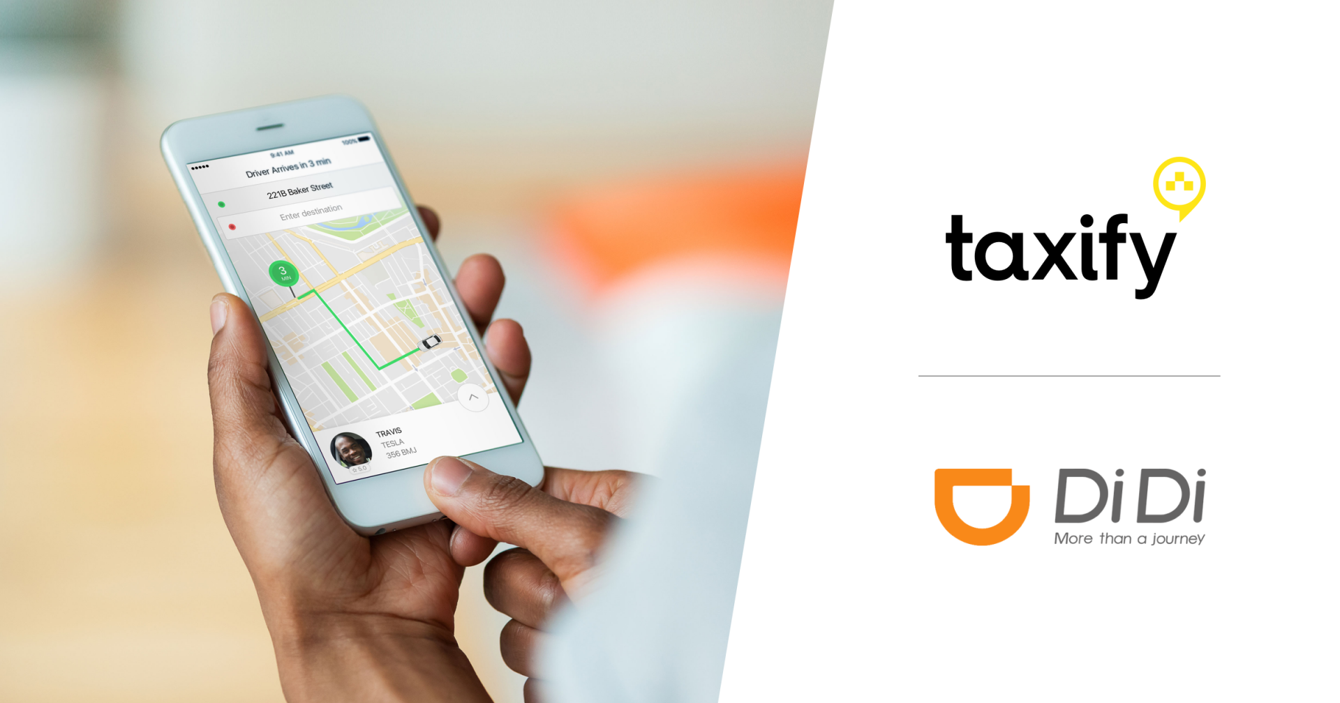 Taxify Taxify partnering with Didi Chuxing
