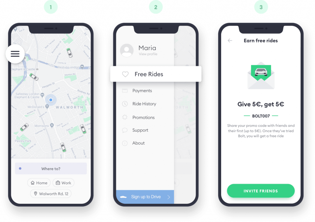 Bolt - Bolt promo code: this is how to get your free ride