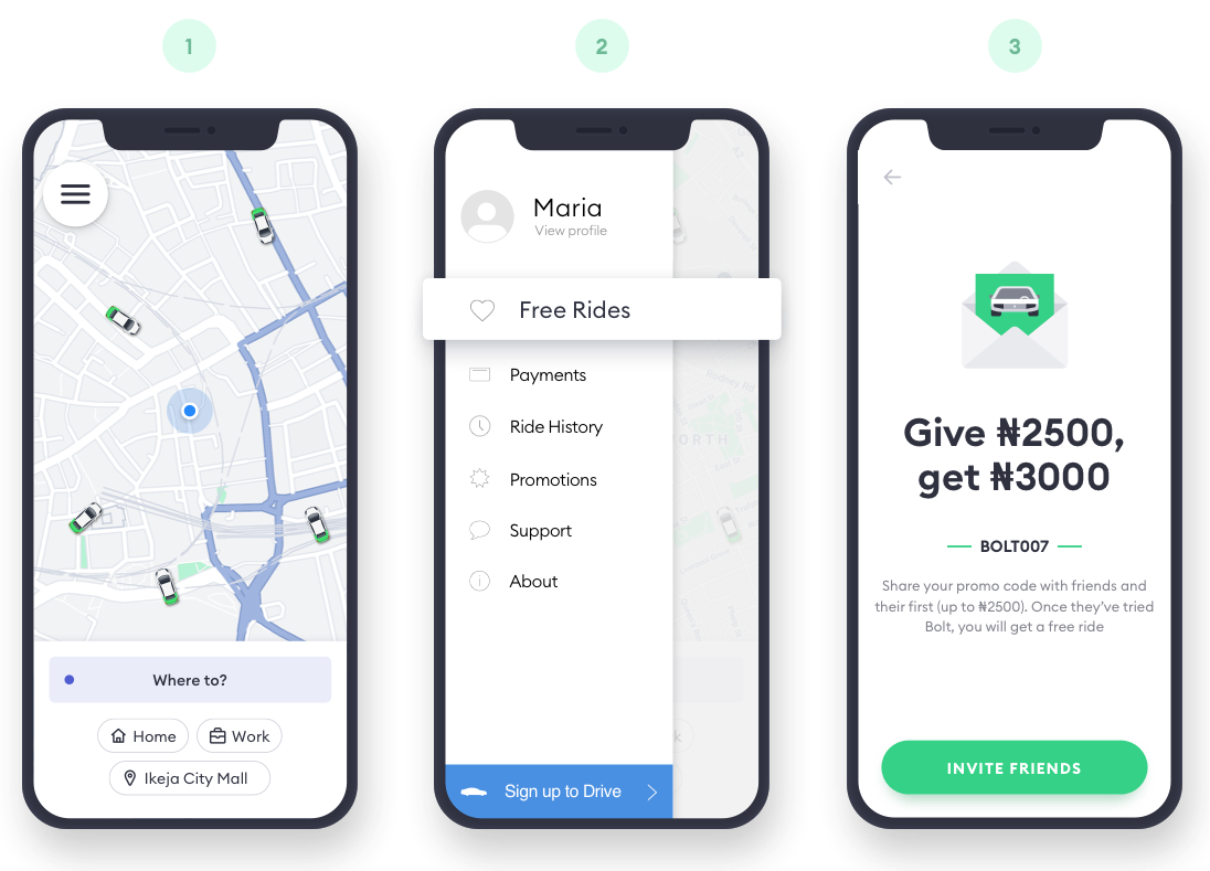 Bolt - This is how you get a free ride with Bolt