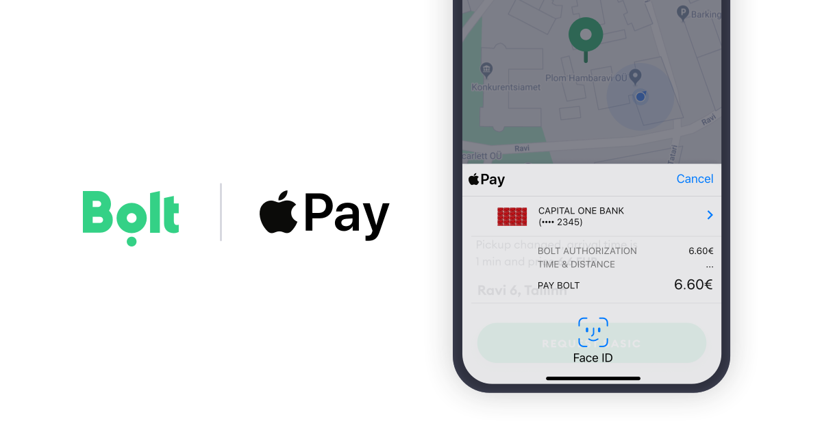 bolt, bolt apple pay