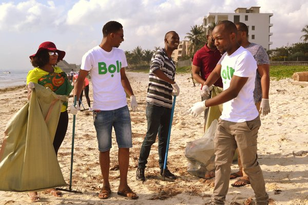Team Tanzania at World Cleanup Day