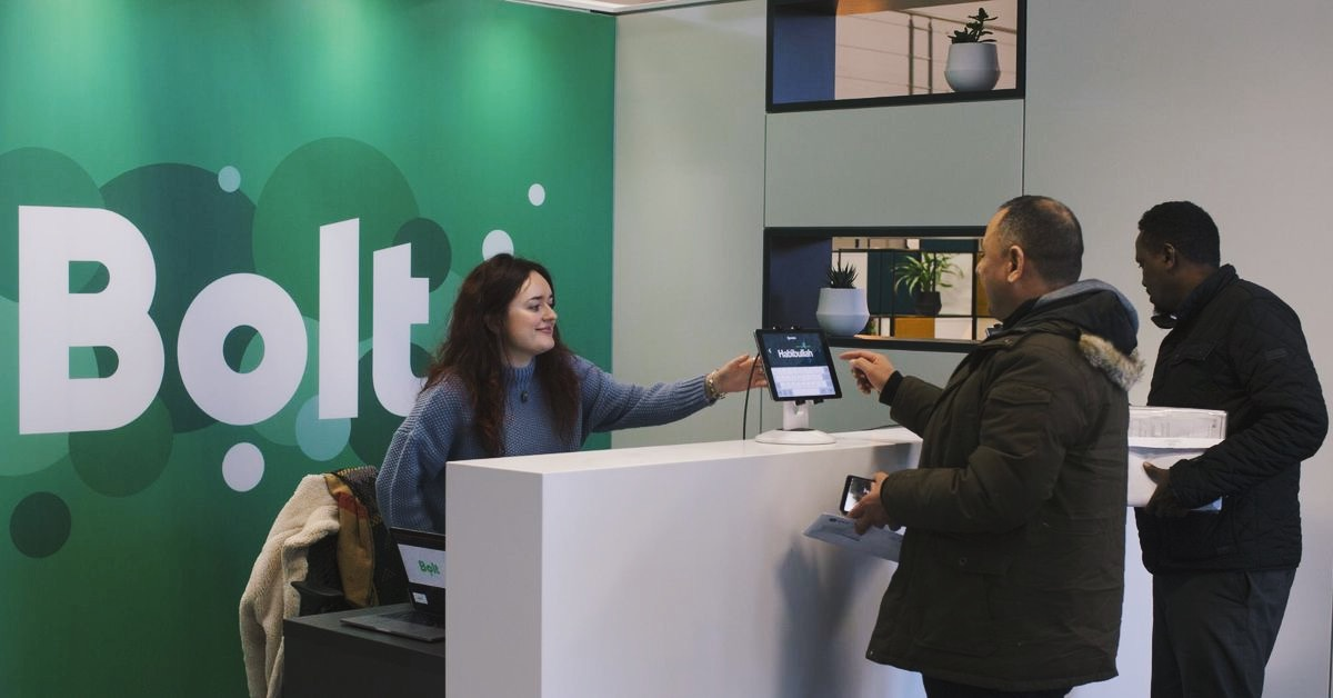 Bolt's London driver hub is now open!