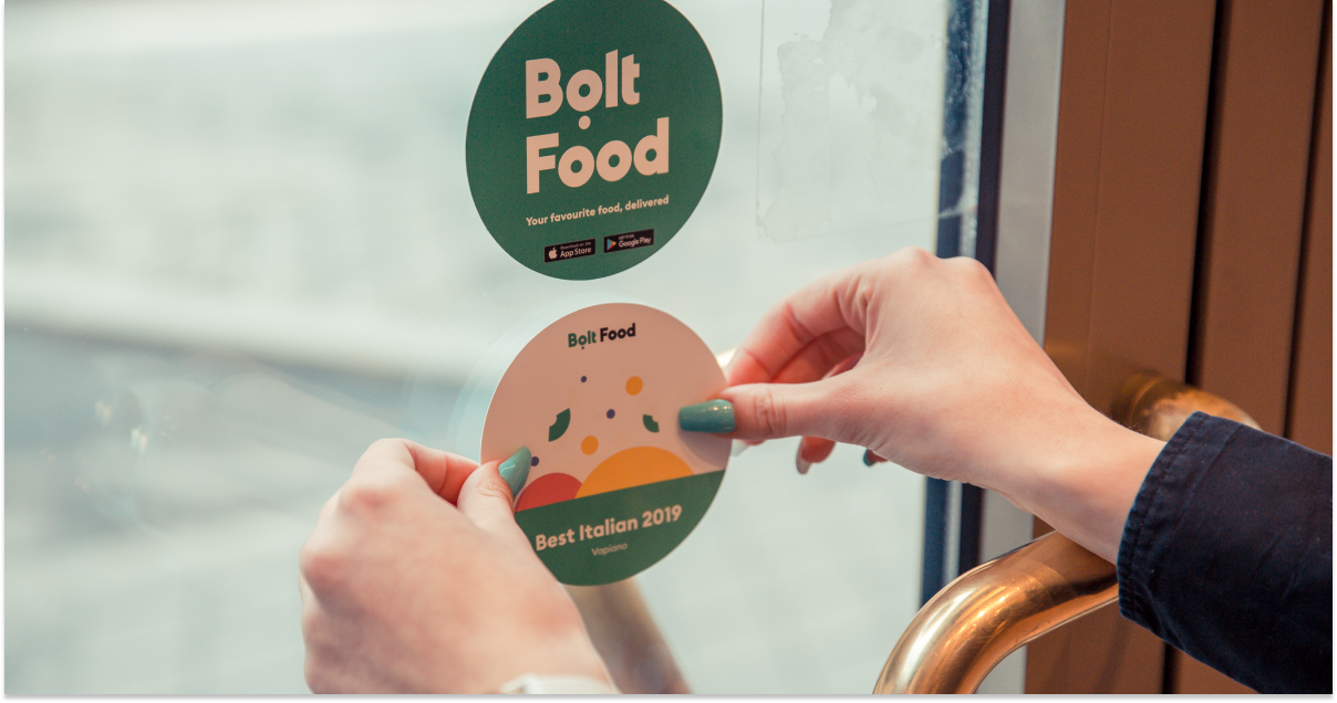 bolt food vapiano