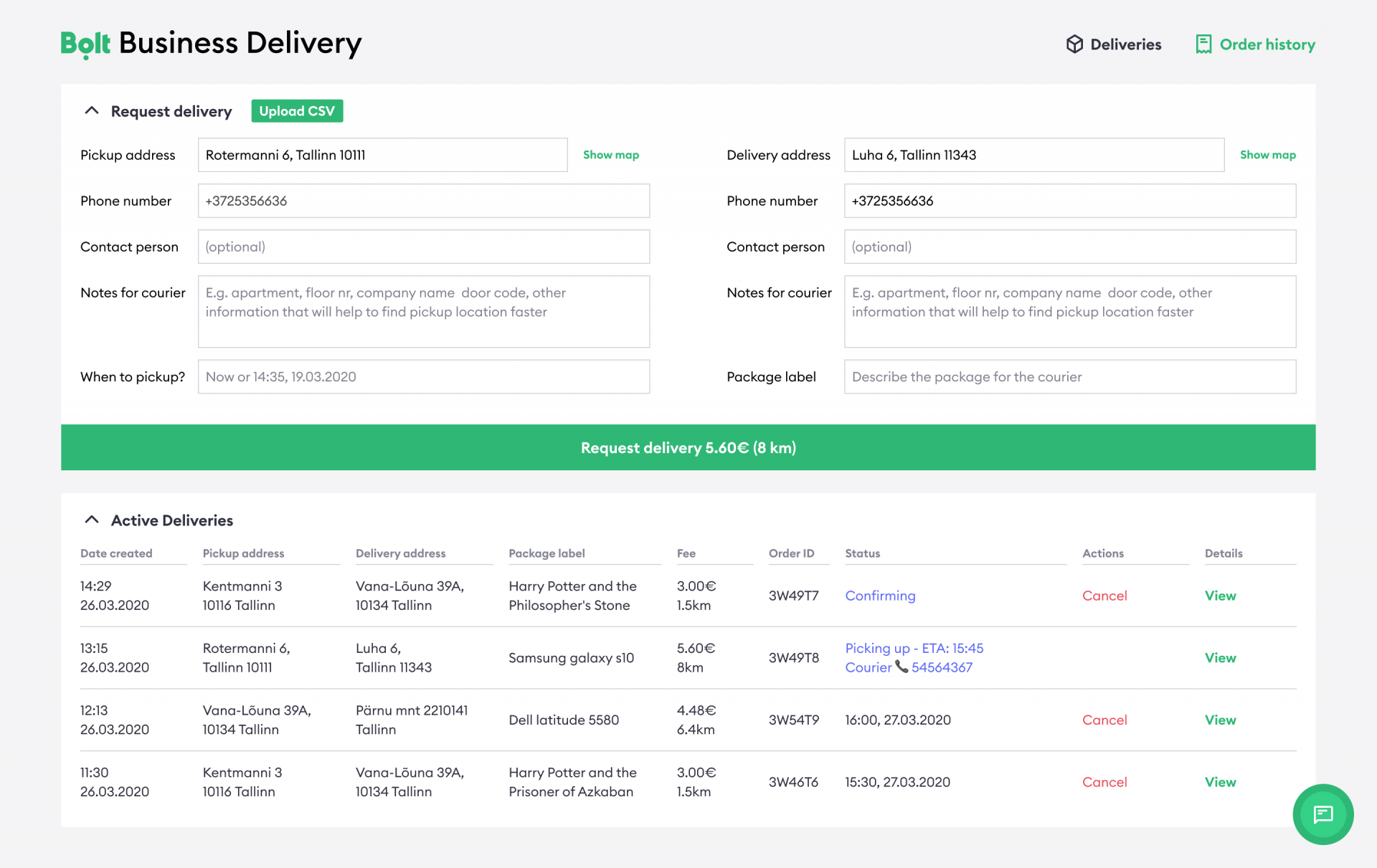 Bolt Launches Business Delivery Service Bolt Blog