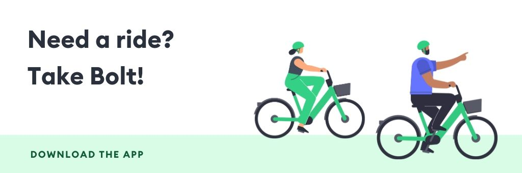 E-bikes Paris_download the app banner