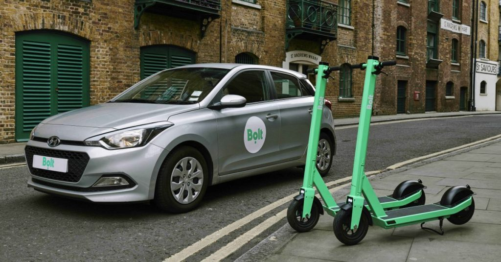 Bolt e-scooters ready for UK city trials