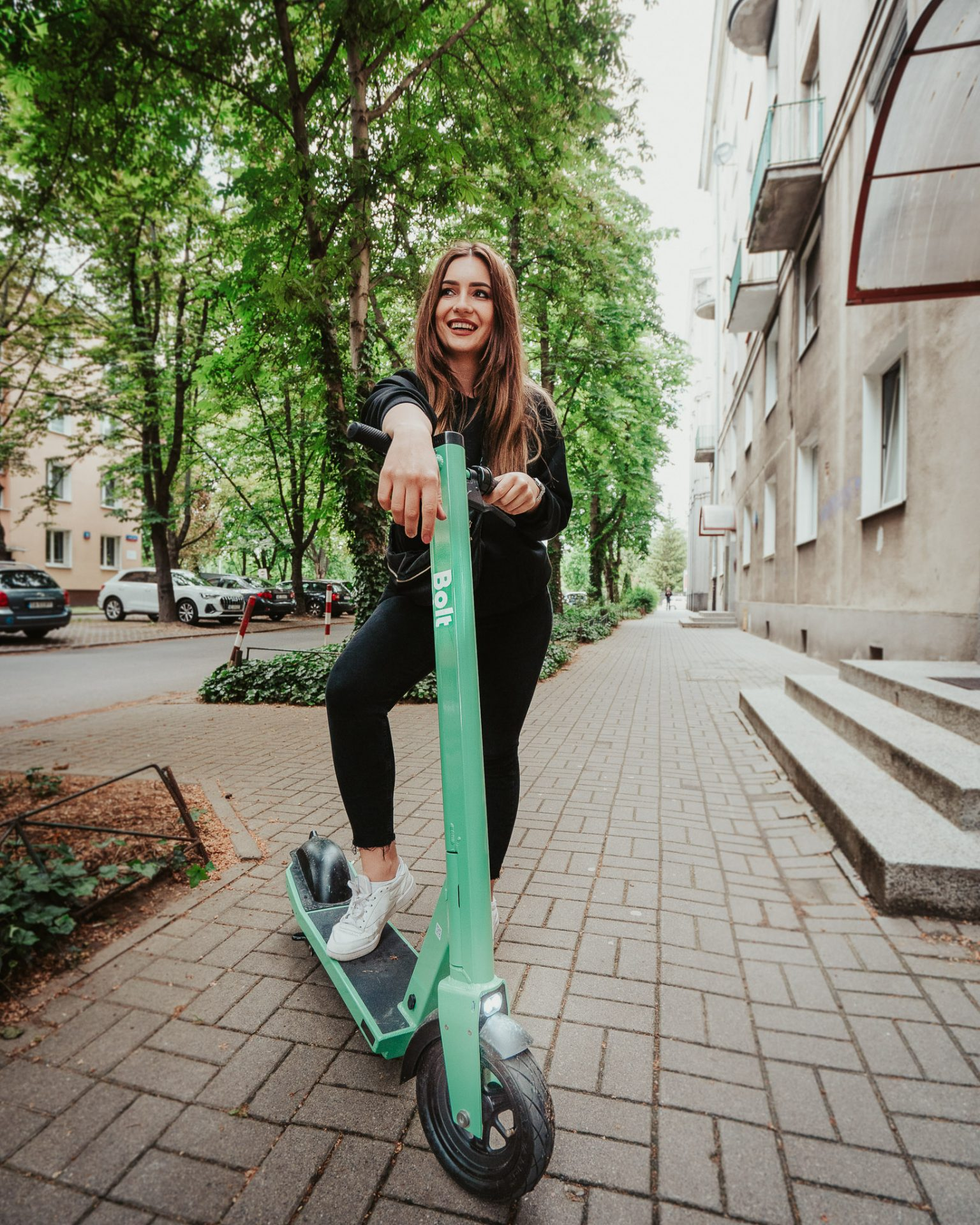@aga.trawinska, Bolt's custom-built e-scooter