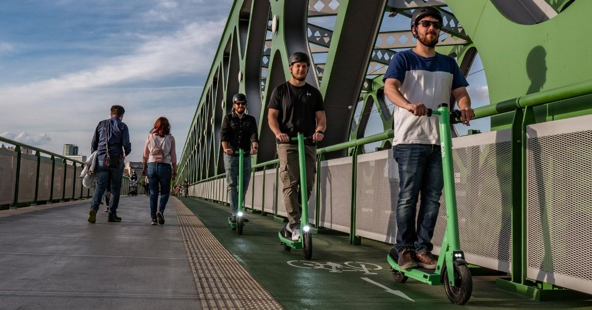 Case study: reducing carbon emissions with Bolt scooters