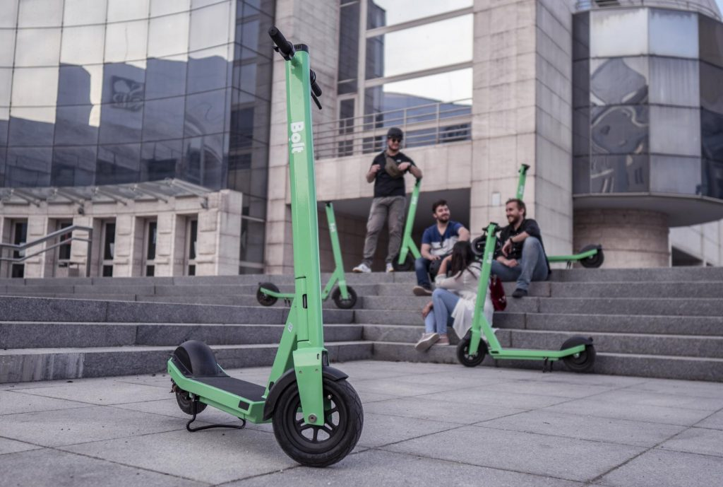 A green scooter for a green future