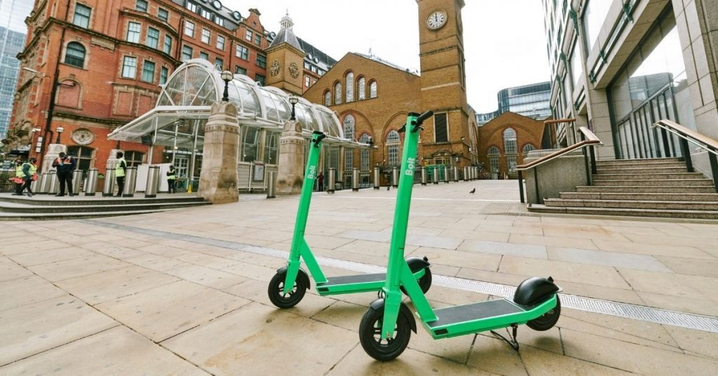 Bolt UK Electric Scooter