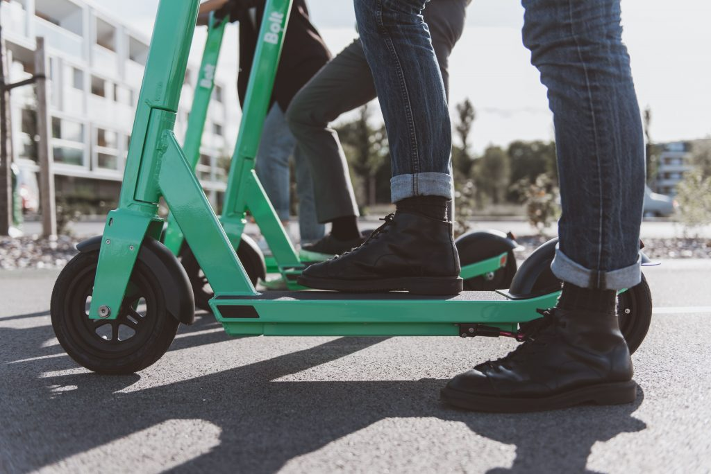 Benefits of e-scooters