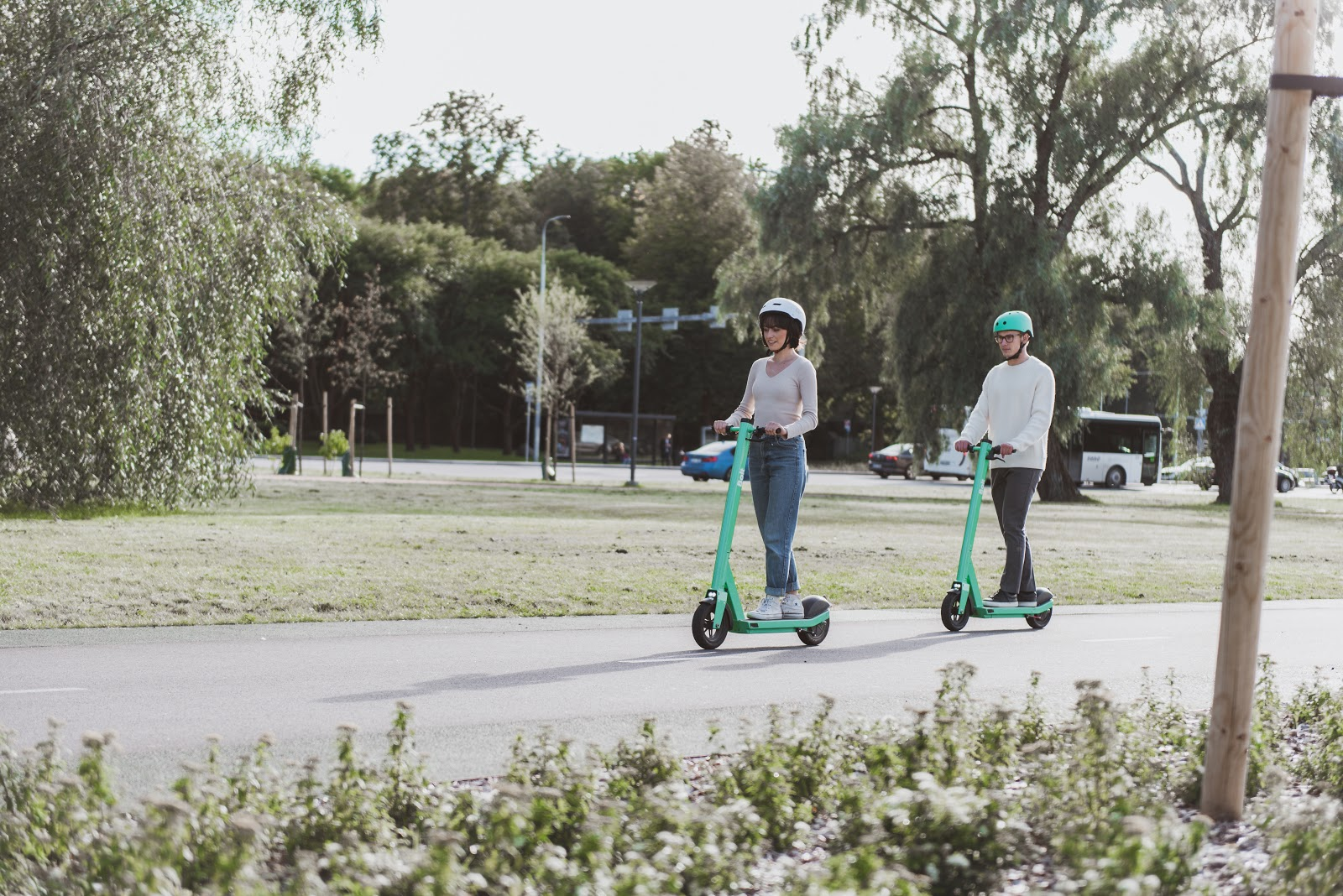 Bolt scooters