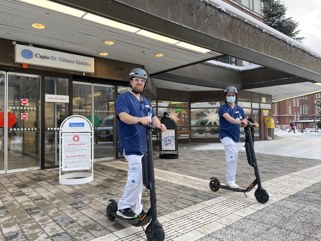bolt scooters for hospitals