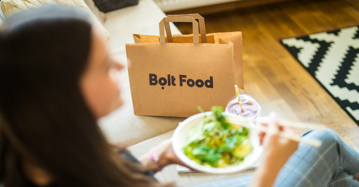 Bolt Food takeaway