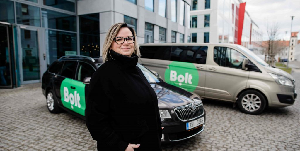 Czech woman fleet partner Petra