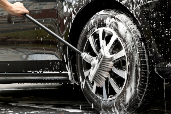 cleaning your tyres