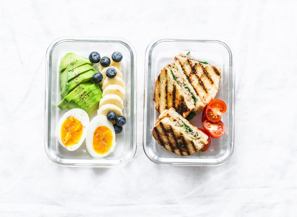 Best snacks_lunch box with hard boiled eggs