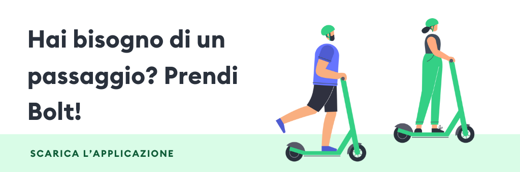 Download Bolt app in Italy